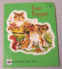 Image for Four Puppies (Golden Tiny Tale Ser.)