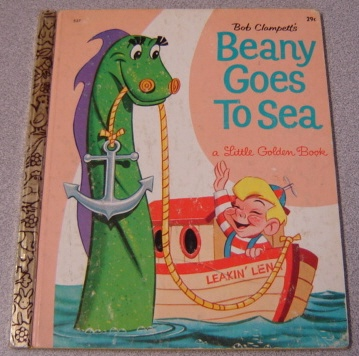 Image for Bob Clampett's Beany Goes to Sea (A Little Golden Book)