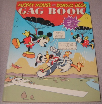 Image for Mickey Mouse And Donald Duck Gag Book: Special Edition From 1930's Original Publication
