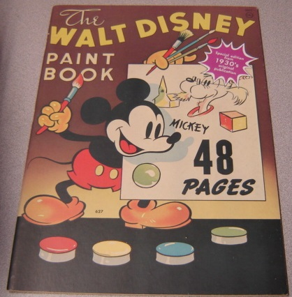Image for The Walt Disney Paint Book: Special Edition From 1930's Original Publication