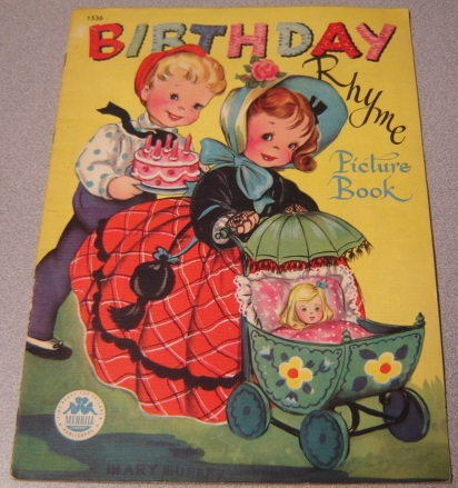 Image for Birthday Rhyme Picture Book