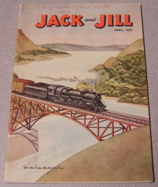 Image for Jack And Jill Magazine, Volume 13 No 6, April 1951
