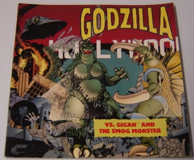 Image for Godzilla Vs. Gigan And The Smog Monster