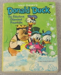 Image for Walt Disney's Donald Duck: The Fabulous Diamond Fountain (A Big Little Book #5756-1)