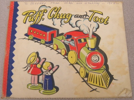 Image for Puff, Chug and Toot (Wash-Easy Cloth Book #397)