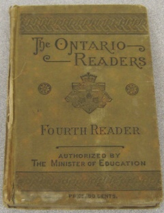 Image for The Ontario Readers Fourth Reader: Authorized For Use In The Public Schools Of Ontario By The Minister Of Education
