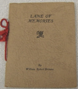 Image for Lane Of Memories:   Seek Ye First the Light