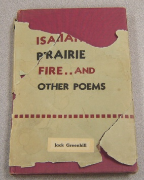 Image for The New Isaiah, Prairie Fire And Other Poems