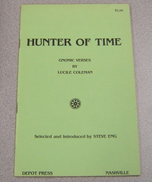 Image for Hunter of Time: Gnomic Verses