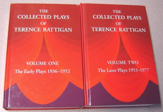 Image for The Collected Plays of Terence Rattigan, 1936-1977, 2 Volume Set