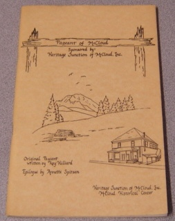 Image for Pageant Of McCloud: The Story Of A Special Mill Town, 1827-1896
