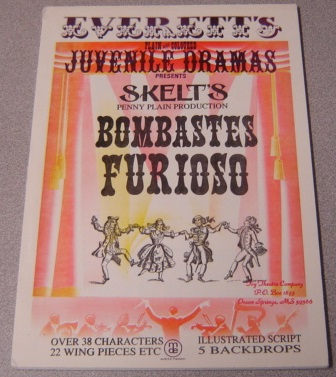 Image for Bombastes Furioso (Everett's Plain and Coloured Juvenile Dramas Presents Skelt's Penny Plain Production)