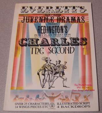 Image for Redington's Charles The Second (Everett's Plain And Coloured Juvenile Dramas)