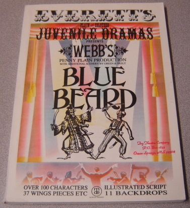 Image for Blue Beard (Everett's Plain & Coloured Juvenile Dramas Presents Webb's Penny Plain Production)