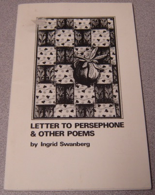 Image for Letter To Persephone & Other Poems; Signed