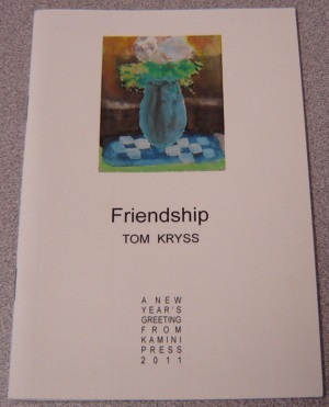 Image for Friendship; Signed