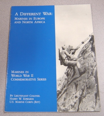 Image for A Different War: Marines in Europe and North Africa (Marines in World War II Commemorative Series)