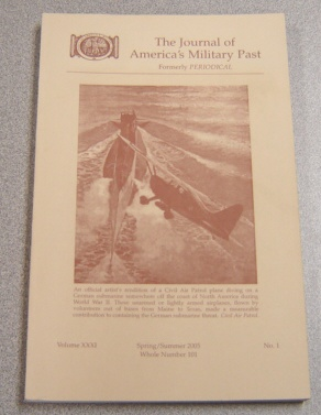 Image for Journal Of America's Military Past Volume XXXI No 1, Spring/Summer 2005, Whole Number 101