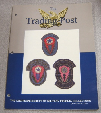 Image for The Trading Post, April-June 2001, American Society of Military Insignia Collectors