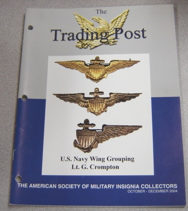 Image for The Trading Post, October-December 2004, American Society Of Military Insignia Collectors
