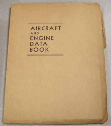 Image for Aircraft And Engine Data Book