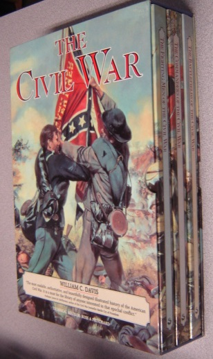 Image for The Civil War, 3 Volume Set In Slipcase - The Fighting Men Of The Civil War; The Commanders Of The Civil War; The Battlefields Of The Civil War