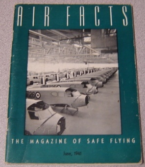 Image for Air Facts: The Magazine of Safe Flying, Volume 4 #6, June 1941