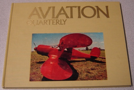 Image for Aviation Quarterly Volume 1, Number 1