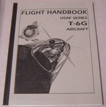 Image for Flight Handbook: USAF Series T-6G Aircraft, Revised 25 Aug 1953 (01-60FFA-1)