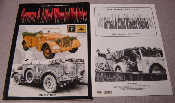 Image for German & Allied Wheeled Vehicles (Militar's Kits Hors Serie No. 4) with 33-page English Translation, 2 Volume Set