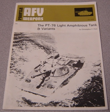 Image for AFV Weapons Profile No. 65: The PT-76 Light Amphibious Tank & Variants