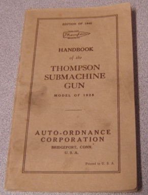 Image for Handbook of the Thompson Submachine Gun: Model of 1928