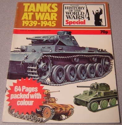 Image for Tanks At War 1939-1945: Purnell's History of the World Wars Special No. 6