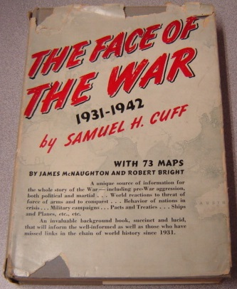 Image for The Face of the War, 1931-1942, with 73 maps