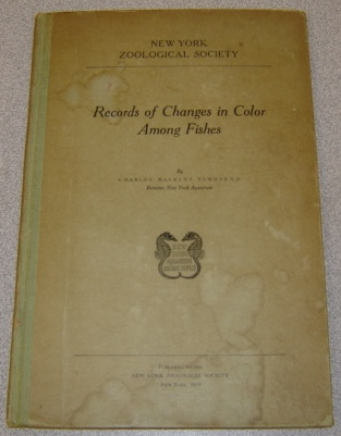 Image for Records Of Changes In Color Among Fishes (New York Aquarium Nature Series)