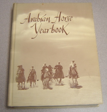 Image for Purebred Arabian Horse Yearbook 1973, Volume XXI