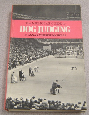 Image for The Nicholas Guide To Dog Judging
