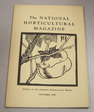 Image for The National Horticultural Magazine, October 1945, Vol. 24 #4