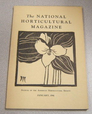 Image for The National Horticultural Magazine, January 1946, Vol. 25 #1