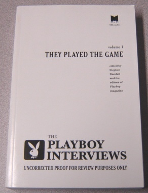 Image for The Playboy Interviews: They Played The Game