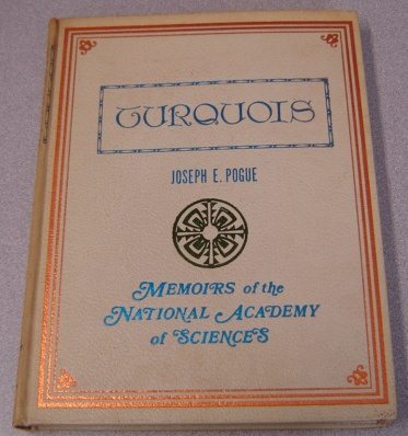 Image for Turquois: Memoirs of the National Academy of Sciences, Volume XII, Part II, Second Memoir, Third Memoir