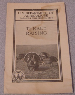 Image for Turkey Raising (U. S. Department of Agriculture Farmers' Bulletin No. 1409)