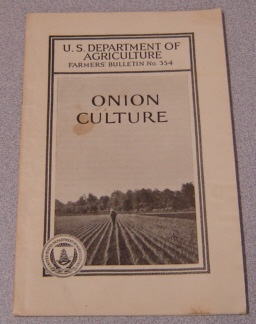 Image for Onion Culture (U. S. Dept. of Agriculture Farmers' Bulletin #354)