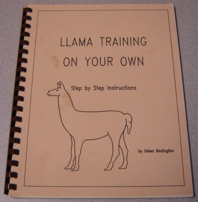 Image for Llama Training On Your Own: Step By Step Instructions; Signed