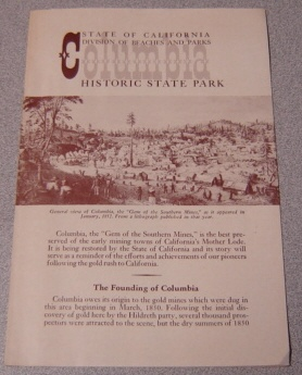 Image for Columbia Historic State Park (State of California, Division of Beaches & Parks)