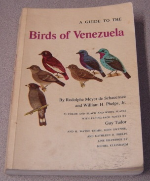 Image for A Guide To The Birds Of Venezuela