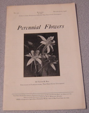 Image for Perennial Flowers (Ohio State University, Agricultural Extension Service Bulletin No. 121)
