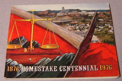 Image for Homestake Centennial 1876-1976