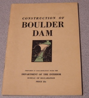 Image for Construction Of Boulder Dam, Fifth Edition