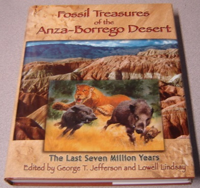 Image for Fossil Treasures of the Anza-Borrego Desert: The Last Seven Million Years